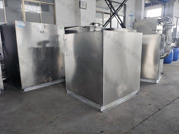 厨房平地式和深坑式污水提升处理器为什么要抬高