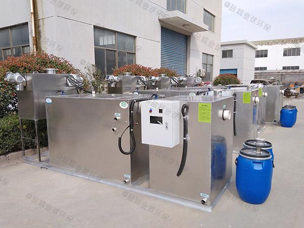 地埋智能型餐厨垃圾油水分离机设计图