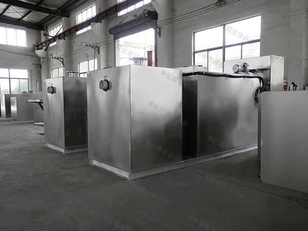 户外加热型食堂油污水分离装置工作原理