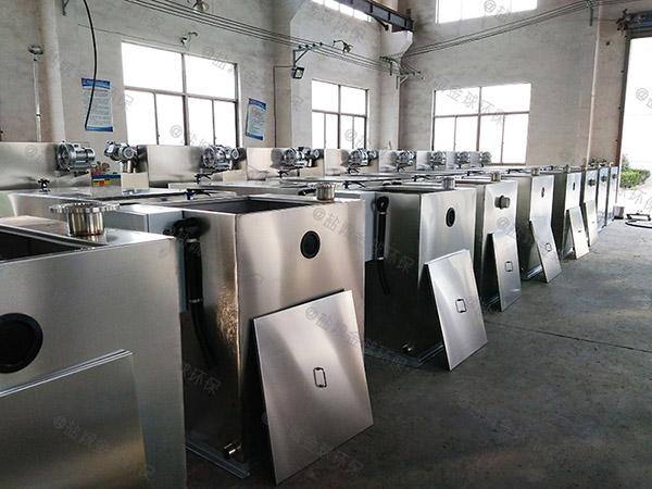地下室机械餐厨垃圾油污水分离器选型