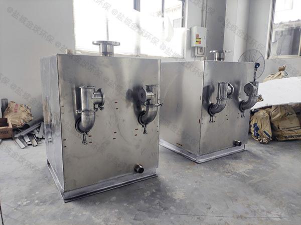 厨房双泵交替污水提升装置安装方法