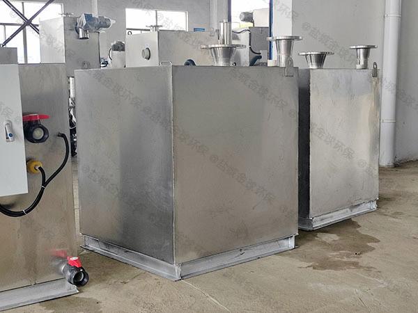 地下卫生间耐高温污水隔油提升器反水是什么情况
