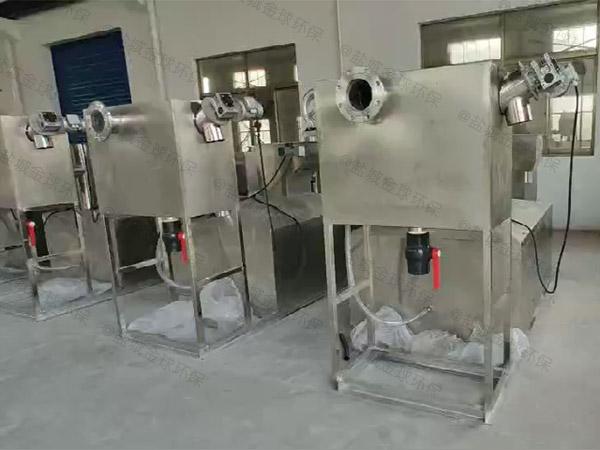 地埋智能化食堂垃圾油水分离设备使用说明
